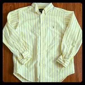 Boys Ralph Lauren Button Up - size 6